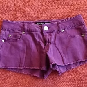 Celebrity pink shorts ! Fuschia color . Like new !